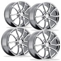 C6 Corvette 2013 60th Anniversary Chrome Wheels