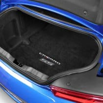 2016-2017 6th Generation Camaro CAMARO SS Silver Logo Trunk Compartment Cargo Mat