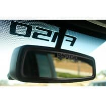 2010-14 Ford Raptor Raptor Rear View Mirror Trim Brushed