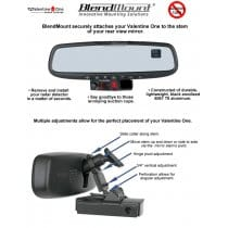 Nissan 350Z and 370Z Radar Detector BlendMount