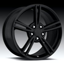 C6 Corvette 2008 Style Black Wheel