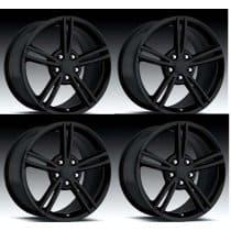 C6 Corvette  08' Style Wheels - Black Set