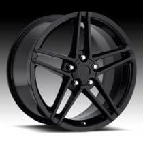 Corvette C6 Z06 Wheel - Black