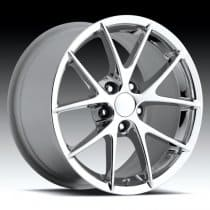 C6 Corvette Z06 Spyder Wheel Chrome Single