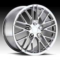 C6 Corvette ZR1 Wheel Chrome Single