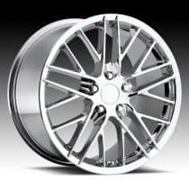 C6 Corvette  ZR1 Wheel - Chrome