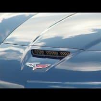 C6 Corvette  Diamond Laser Mesh Hood Vent Grille for Z06/ZR1/GS