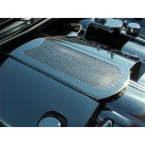 C6 Corvette Polished Stainless Perforated Plenum Cover