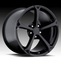 Corvette C6 Grand Sport Style Black Wheel