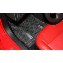 C7 Corvette Clear Protector Floor Mats