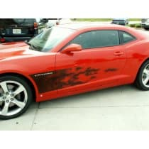 2010-2013 Camaro Airbrushed Flame Graphic