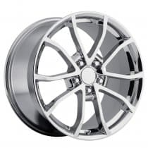 C6 Corvette 2013 60th Anniversary Chrome Wheel