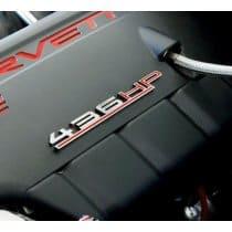 Corvette Custom HP Chrome Badge