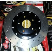 C6 Corvette DBA 5000 Series Front Brake Rotors