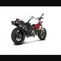 Ducati 696, 796, and 1100S Monster Akrapovic Slip-On Exhaust