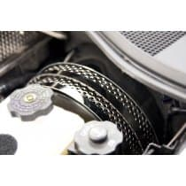 2014-2019 C7 Corvette Stingray & Z06,Z51 Perforated Brake Booster Covers 3pc Polished