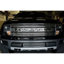 2010-2014 Ford Raptor Laser Mesh Grille with Black Raptor Logo