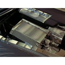 C6 Corvette Perforated Fuse Box Cover