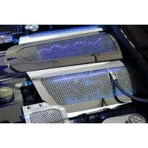 C6 2008-2013 Corvette Fuel Rail Covers w/LED Lighting