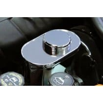 C6 Corvette Polished Stainless Steel Brake Fluid Cover