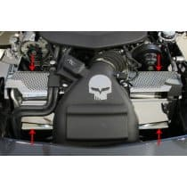 C6 ZR1 Corvette Engine Radiator Cover