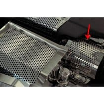 C6 ZR1 Corvette Alternator Cover - Perforated