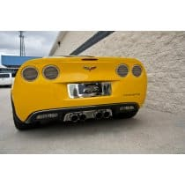C6 Corvette Billet Style Taillight Covers