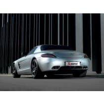 Mercedes Benz SLS AMG Akrapovic Exhaust Kit
