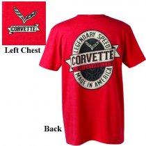 C7 Corvette Vintage Labeled T-Shirt
