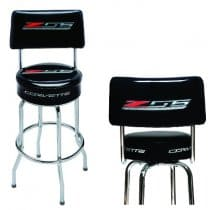 C7 Z06 Corvette Pub Stool With Back