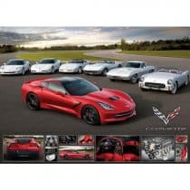 2014 C7 Corvette Stingray Jigsaw Puzzle