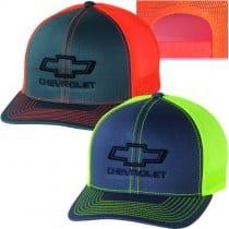 2010-2015 Chevrolet Bowtie Neon Snapback Baseball Cap