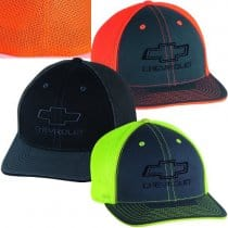 Chevrolet Bowtie Neon Fitted Hat