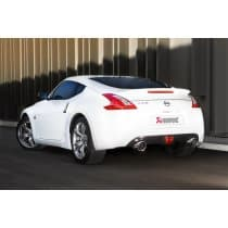 Nissan 370Z Akrapovic Stainless Steel Slip-On Exhaust