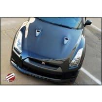 Nissan GT-R R35 Dry Carbon Hood