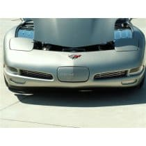 C5 Corvette Perforated 2-pc Stainless Front Brake Vent Grills