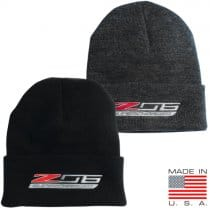 C7 Corvette Stingray Z06 Knit Beanie w/ Cuff