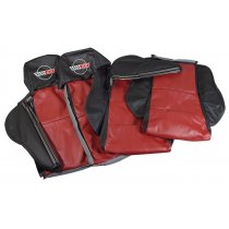 C4 1984-1996 Corvette Embroidered Custom Leather Sport Seat Covers