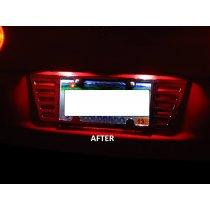 C5 1997-2004 Corvette LED License Plate Light Strip