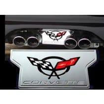 C5 Corvette Billet Exhaust Enhancer Plate