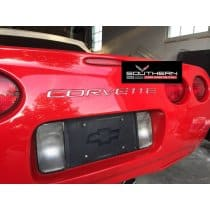 Corvette C5 Rear Bumper Domed Lettering Letters Package
