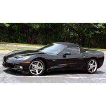 C6 Corvette Convertible Top in Black Original Twillfast