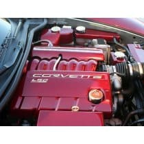 C6 Corvette Executive Series 5-Piece Engine Cap Covers