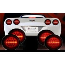 C6 Corvette Max Red LED Tail Lights