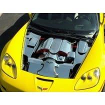 C6 Corvette Z06 4-pc Stainless Inner Fender Covers