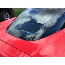 C6 Corvette ZR1 Coupe Cargo Security Shade