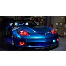 C6 Corvette Headlight HALO LED Kit