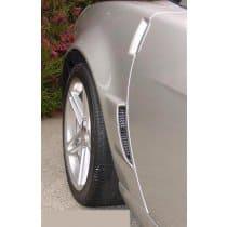 C6 Corvette Z06 Racemesh Rear Fender Duct Inserts