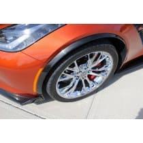 C7 Corvette Z06 Painted Wheel Opening Moldings Spats Set