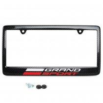 C7 Grand Sport Corvette Carbon Fiber License Plate Frame